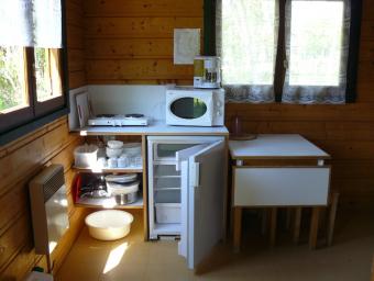 cuisine hutte
