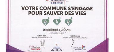 Récompense et distinction pour JALEYRAC