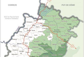 Shéma de Cohérence Territoriale Haut Cantal Dordogne